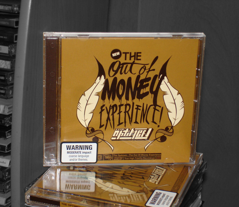 The Optimen-The Out of Money Experience CD Prize