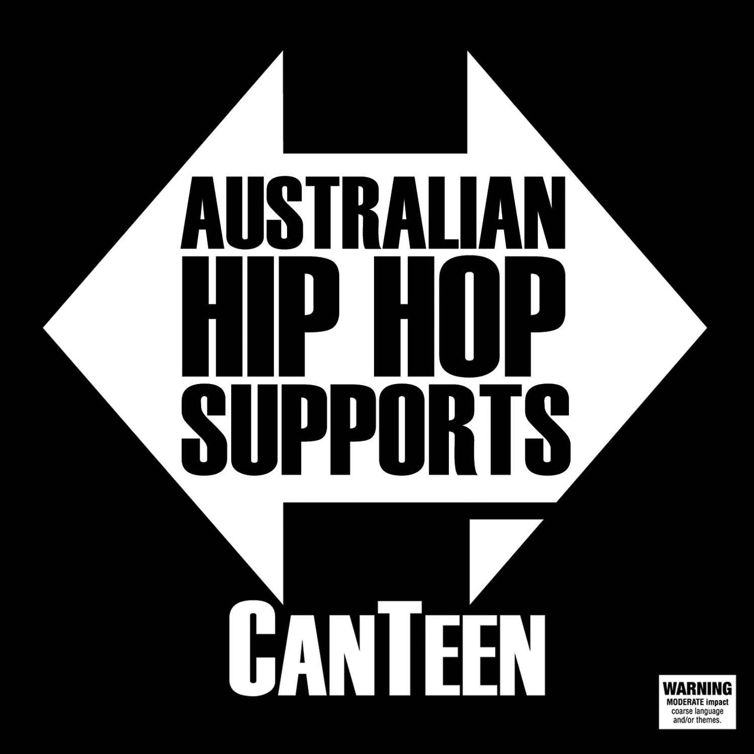 Australian Hip Hop Supports Canteen Front Cover